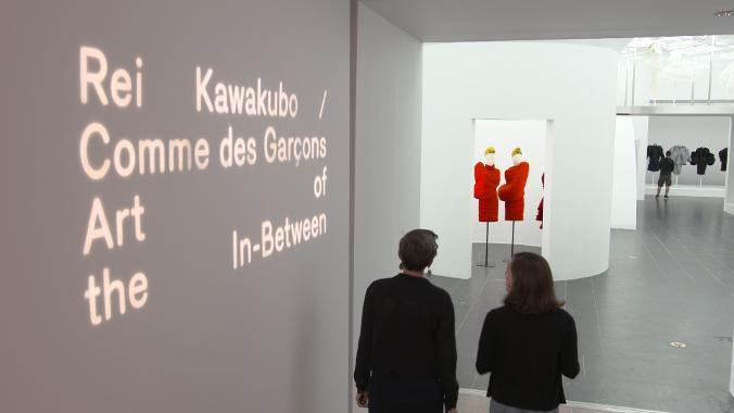 Rei Kawakubo exhibition in Met MUseum, New York